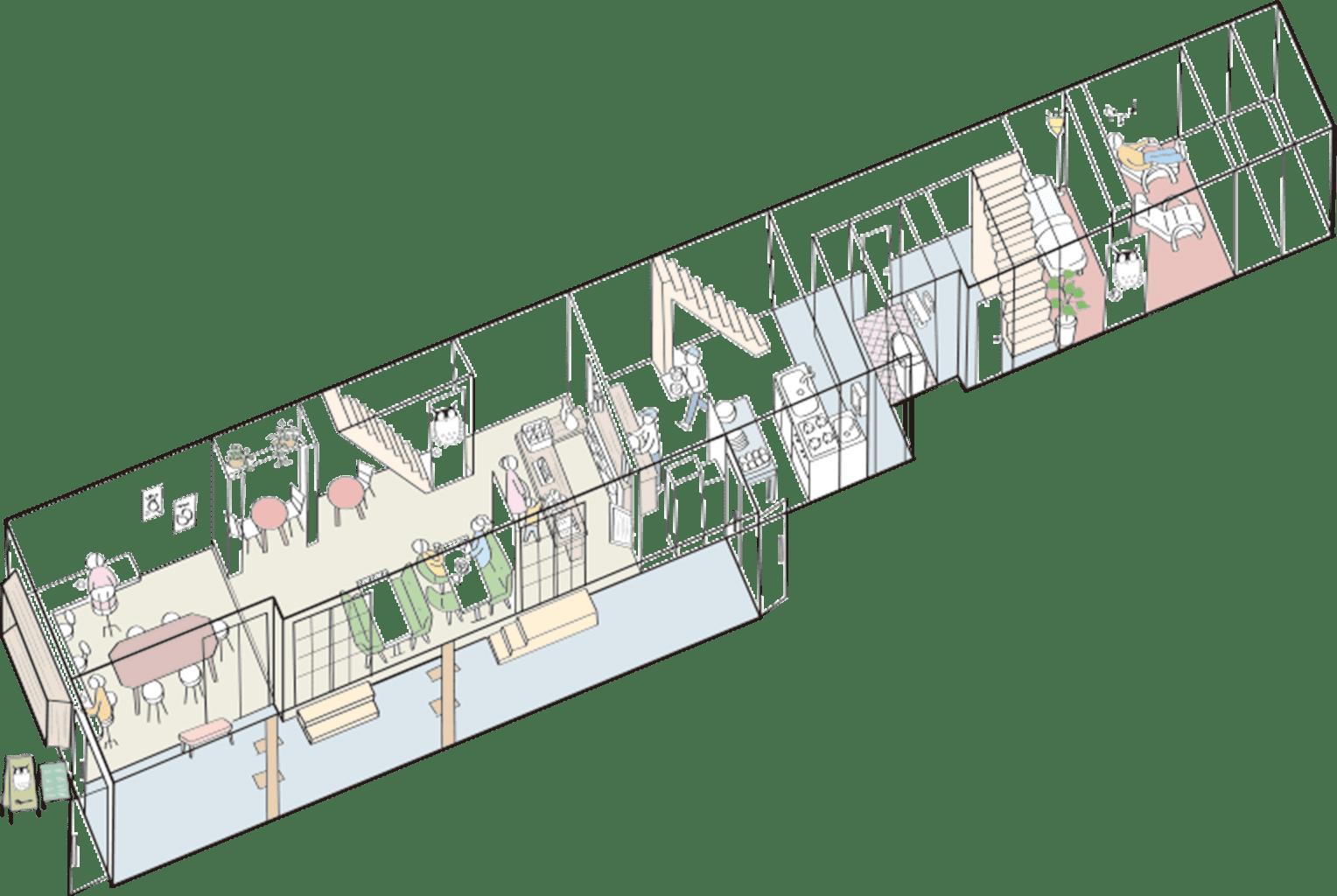 館内map1F